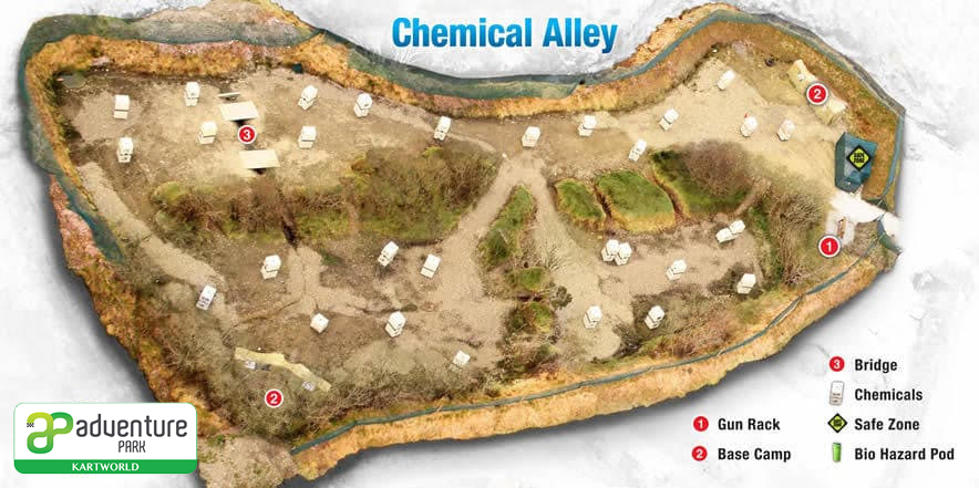 Chemical Alley Paintball Arena