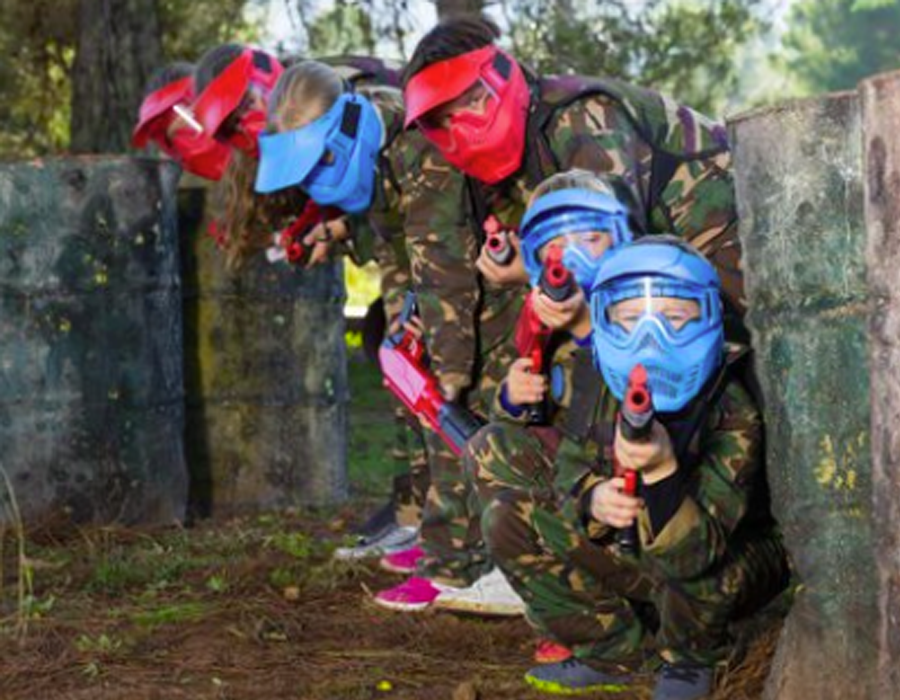Paintball kids 2
