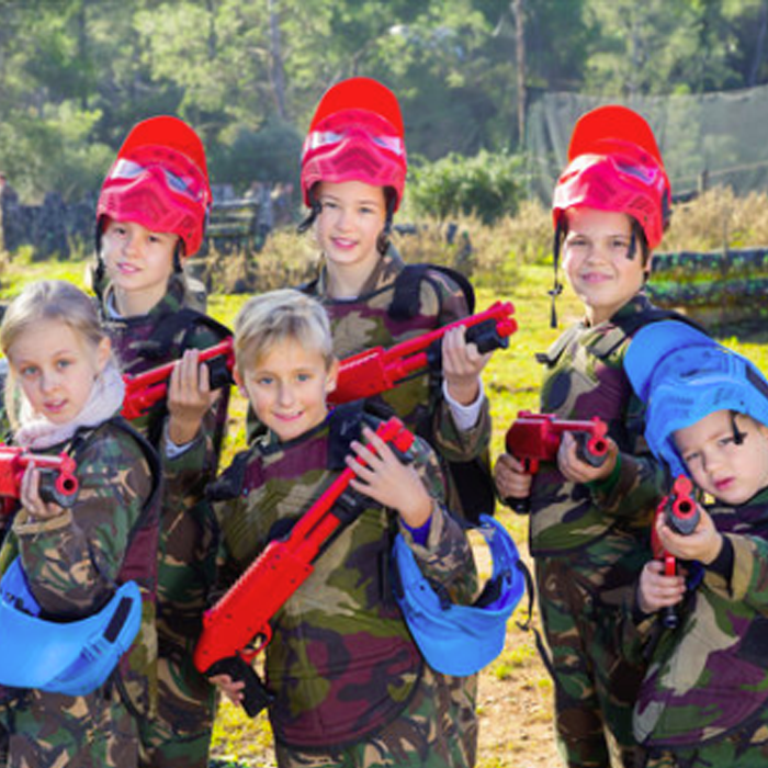 Paintball kids